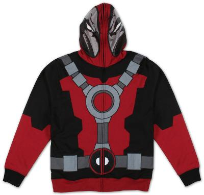 Zip Hoodie: Marvel - Mr Pool