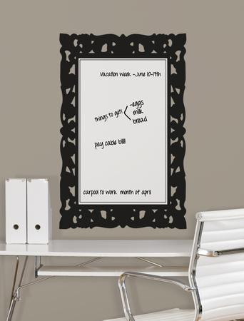 Ornate Frames Dry Erase Peel and Stick Wall Decals