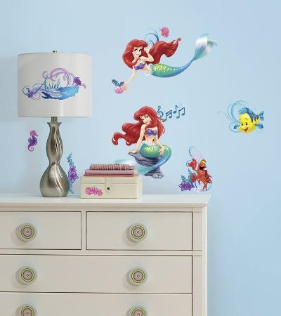 The Little Mermaid Peel and Stick Wall Decals