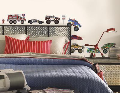 New Speed Limit Trucks Peel & Stick Wall Decals