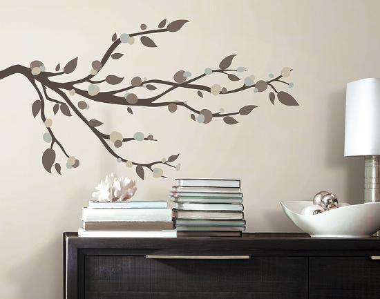 Mod Branch Peel And Stick Wall Decals Wall Decal At