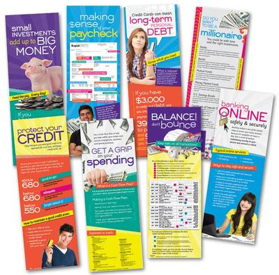 It's Your Money (Eight posters included) Laminated Educational Poster Set