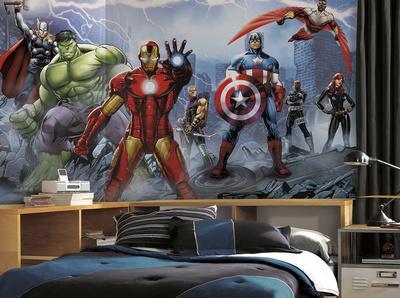 Avengers Assemble Mural
