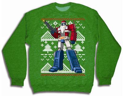 Transformers - Optimus Prime Christmas Sweater