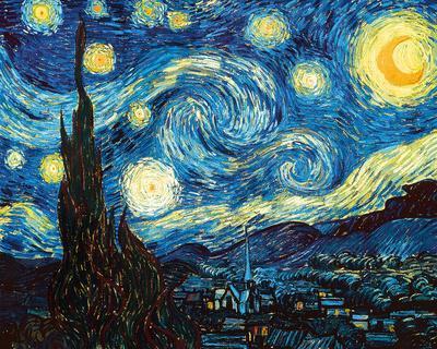 The Starry Night, June 1889