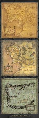 Lord Of The Rings - Maps