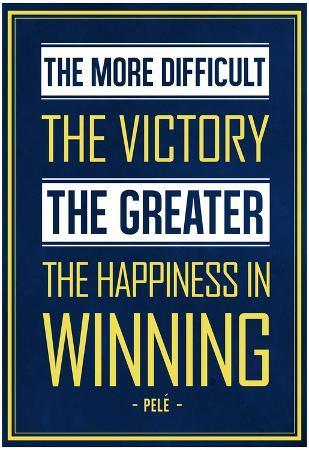 Winning - Blue