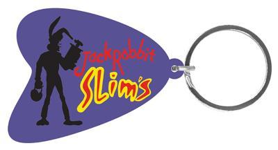 Pulp Fiction - Jack Rabbit Slims Rubber Keychain