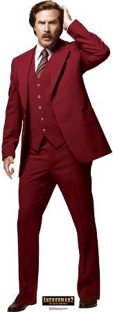 Anchorman 2: The Legend Continues - Ron Burgundy Lifesize Standup