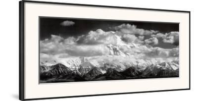 Mt. McKinley Range, Clouds, Denali National Park, Alaska, 1948