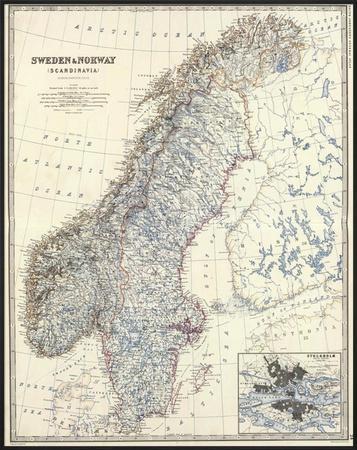 Sweden, Norway, c.1861