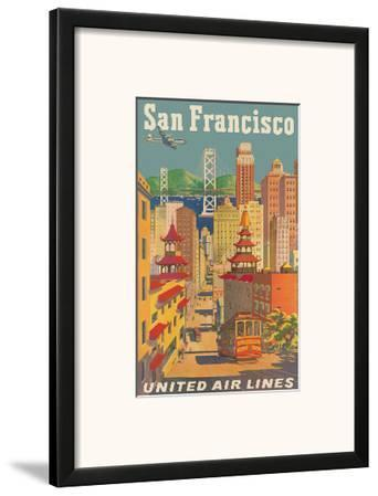 United Airlines San Francisco c.1950