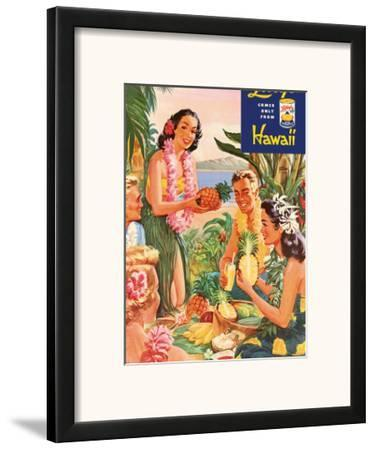 Hawaiian Luau, Libby's Pineapple Hawaii, c.1957