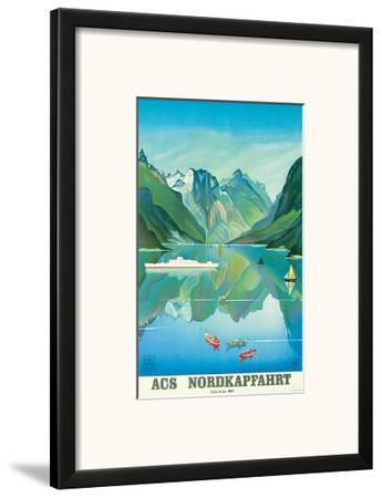 HAPAG Cruise Line: Nordkapfahrt - North Cape and Norwegian Fjords, c.1957