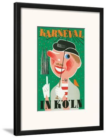 Karneval In Koln: Germany c.1950
