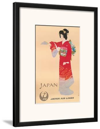 Japan Air Lines, Geisha c.1950's
