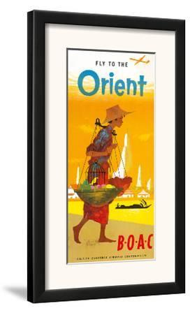 BOAC, Fly to the Orient c.1950's
