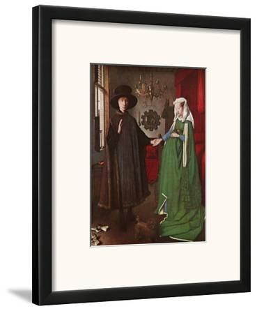 Portrait of Giovanni Arnolfini and his Wife, c.1434