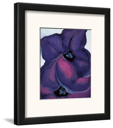 Purple Petunias, 1925