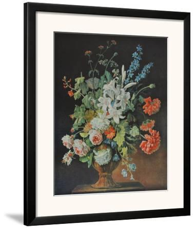 Still Life with Lilies, Poppies and Roses