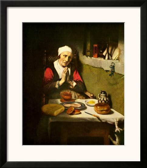 Old Woman Praying Print By Nicholaes Maes At Allposterscom