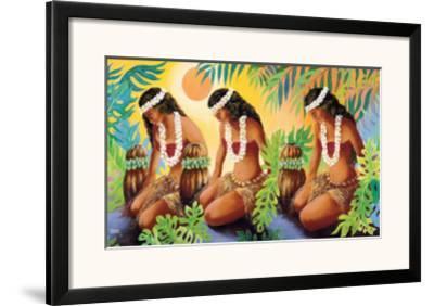 The Sun at the Source of Life, Hawaiian Hula Girls