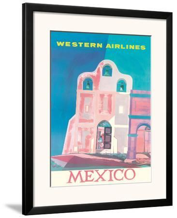Western Airlines: Mexico, c.1959
