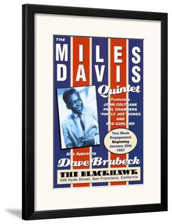 Miles Davis Quintet at the Blackhawk, San Francisco, California, 1957
