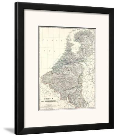 Belgium, Netherlands, c.1861