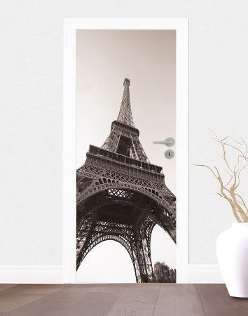 Paris - The Eiffel Tower Door Wallpaper Mural