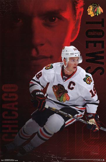 jonathan toews chicago blackhawks poster at allposters com