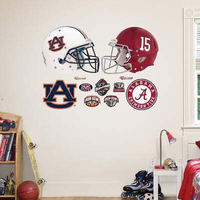 Auburn - Alabama Rivalry Pack Wall Decal