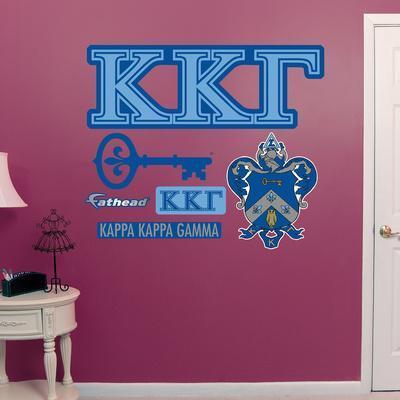 Kappa Kappa Gamma Letters Wall Decal Wall Decal Allposters Com