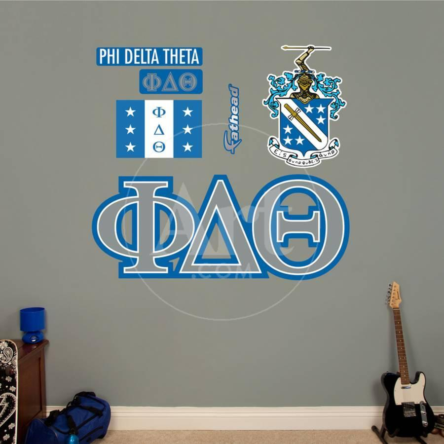 Phi Delta Theta Letters Wall Decal Wall Decal Allposters Com