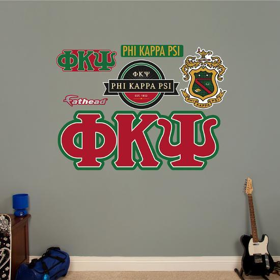 Phi Kappa Psi Letters Wall Decal Wall Decal Allposters Com
