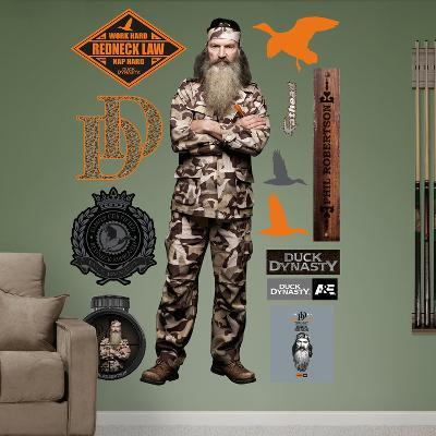 Duck Dynasty - Phil Robertson Wall Decal