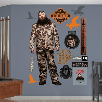 Duck Dynasty - Willie Robertson Wall Decal
