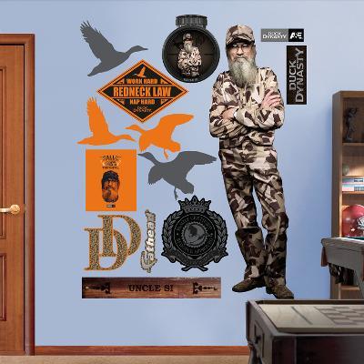 Duck Dynasty - Si Robertson Wall Decal