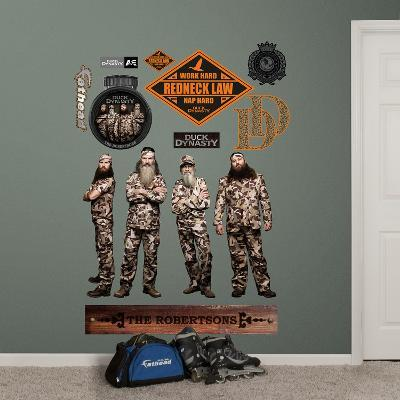 Duck Dynasty Collection Wall Decal