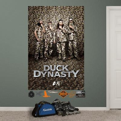 Duck Dynasty Mural Wall Decal