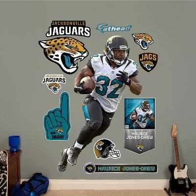 NFL Jacksonville Jaguars Maurice Jones - Drew Wall Decal