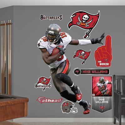 NFL Tampa Bay Buccaneers Mike Williams Wall Decal