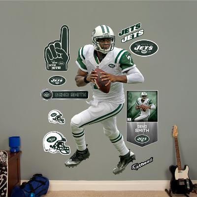 NFL New York Jets Geno Smith Wall Decal