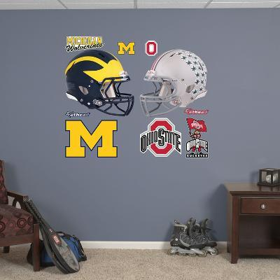 Ohio State - Michigan Rivalry Pack Wall Decal