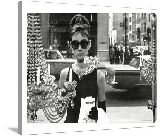 Audrey Hepburn Window Gallery Wrapped Canvas At