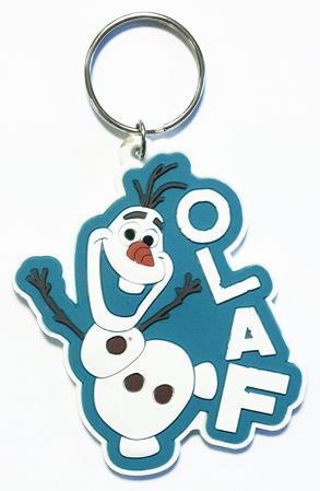 Frozen - Olaf Rubber Keychain