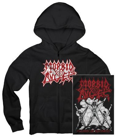 Zip Hoodie: Morbid Angel - Altars of Madness