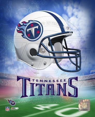 Tennessee Titans Helmet Logo ©Photofile
