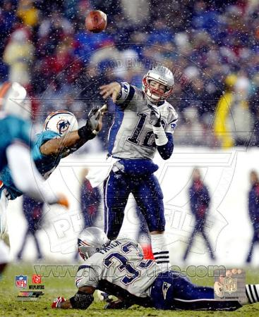 Tom Brady - Passing in Snow 12/7/03