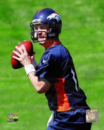 Peyton Manning 2012 Mini Camp Action